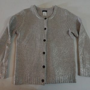 J. Crew Size XS Silver Wool/Cashmere Sweater